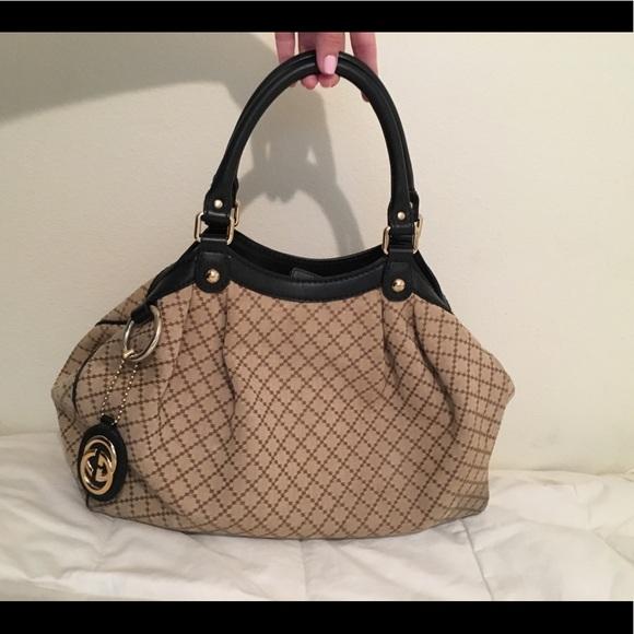 1863b52fe68f Gucci Bags | Diamant Medium Sukey Tote 211944 | Poshmark